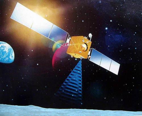 Chiński orbiter księżyca - sonda Chang'e-1 (Xinhua/CNSA)