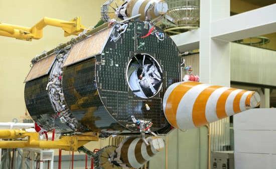 Przygotowania satelity Goniec-M (Reszetnew)