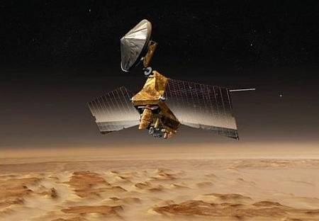 Wizja artystyczna sondy MRO / Credits - NASA, JPL