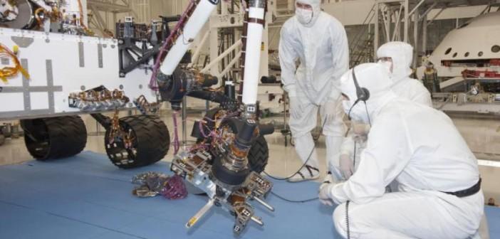 Testy wysięgnika Curiosity, 31 sierpnia 2010 / Credits: JPL
