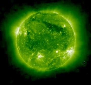 Wygląd Słońca z sondy STEREO B w dniu 16 września 2010 roku / Credits - NASA, STEREO