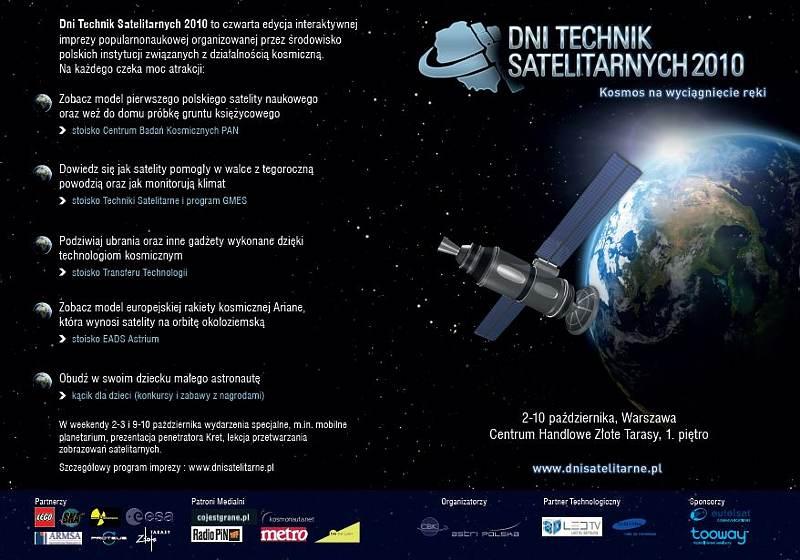 Pełna ulotka DTS 2010 / Credits - CBK PAN, organizatorzy DTS 2010