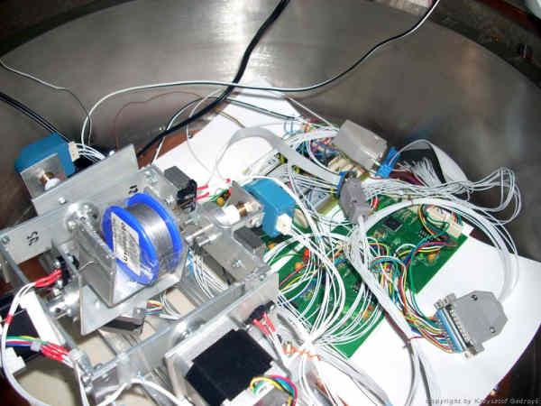 Mechanizm Stabilizacji w komorze termiczno-próżniowej CBK PAN (SKA)