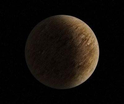 Mała skalista egzoplaneta, krążąca blisko swej gwiazdy macierzystej / Credits - K. Kanawka