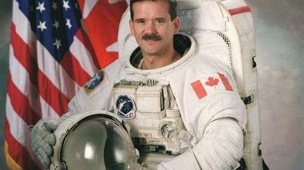 Chris Hadfield / credits: NASA