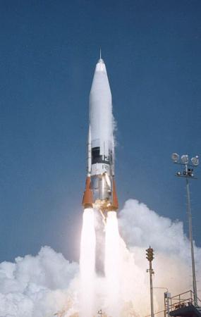 Pocisk rakietowy ICBM SM-65 Atlas (US Air Force)