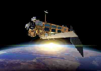 Satelita Envisat / Credits: ESA