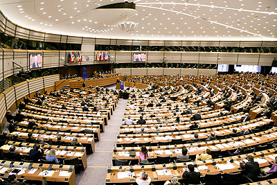 Sala obrad Parlamentu Europejskiego / Credits: European Parliament
