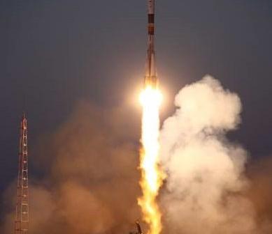 Start rakiety Sojuz (30.06.2010). Podobna rakieta dziś wyniosła statek Progress M-08M / Credits: Roscosmos