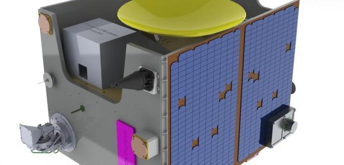 TechDemoSat-1 - projekt / Credits: SSTL