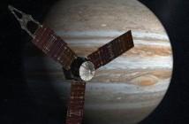 Juno w okolicach Jowisz - wizualizacja / Credits: NASA