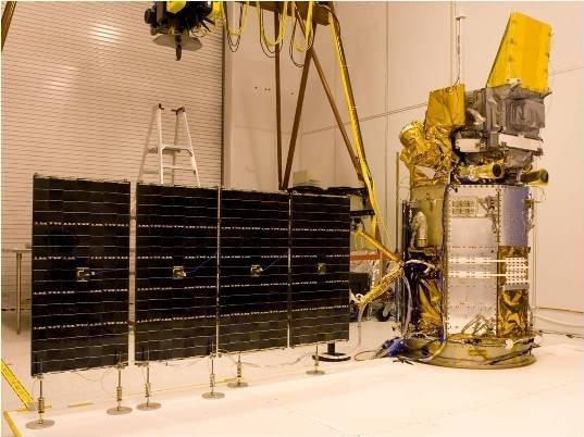 Prace nad satelitą Glory / Credits: Orbital Science Corp.