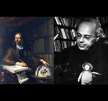 Jan Heweliusz i Stanisław Lem - patroni pierwszych polskich satelitów naukowych