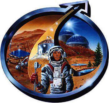 Logo organizacji Mars Society / Credits - Mars Society Polska