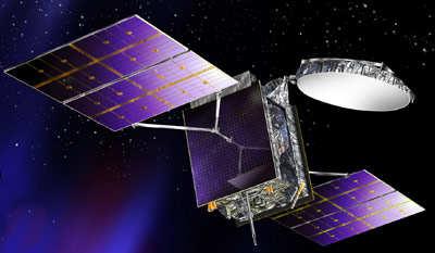Wizja artystyczna satelity BSAT-3b (LMCSS)