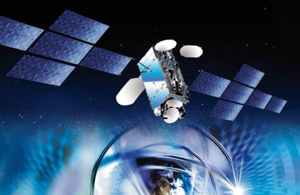 Wizja artystyczna satelity Eutelsat W3B (Eutelsat)