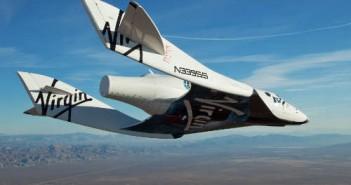 SpaceShipTwo - suborbitalny samolot rakietowy / Credits - Virgin Galactic