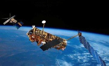 ERS-2 i Envisat - wizja artystyczna / Credits: ESA