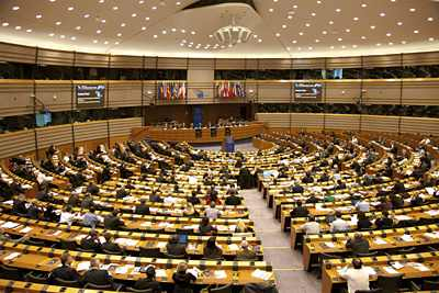 Konferencja w Parlamencie Europejskim / Credits: ESA - S. Corvaja, 2010