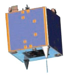 NigeriaSat-X (NX) - wizualizacja / Credits: SSTL