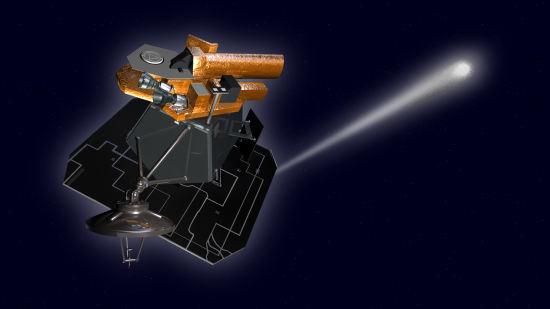Wizja artystyczna sondy Deep Impact/EPOXI (JPL/NASA)