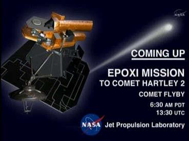 Zapowiedź transmisji z misji Deep Impact/EPOXI (NASA TV)