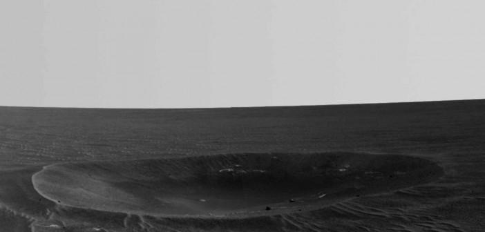 Krater Yankee Clipper / Credits: NASA-JPL