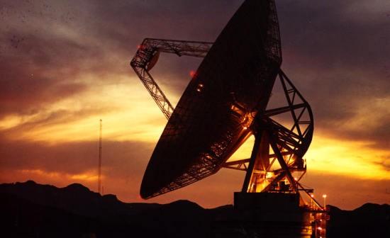 Radioteleskop Goldstone sieci Deep Space Network (JPL/NASA)