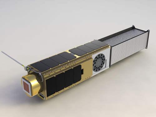 Wizja artystyczna przedstawiająca gotowego satelitę O/OEROS (Chris Beasley/NASA)