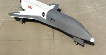 Pojazd X-34 - zdjęcie z 1999 roku / Credits - NASA