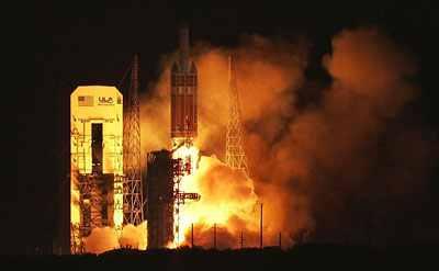 Start Delty IVH z satelitą NROL-32 / Credits: ULA