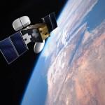 Wizja artystyczna HYLAS na orbicie okołoziemskiej (Avanti Communications)