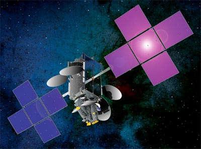 Wizja artystyczna satelity Intelsat 17 (SSL)