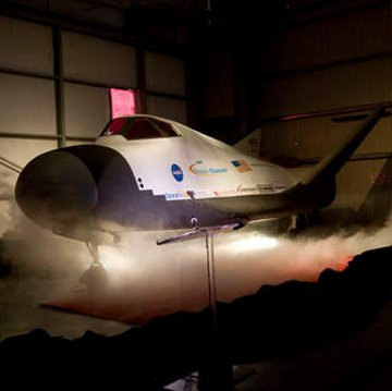 Pojazd Dream Chaser / Credits - Sierra Nevada Corporation