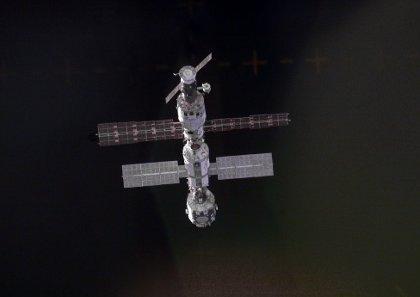 ISS we wrześniu 2000 roku, przed przyjęciem Ekspedycji 1 / Credits - NASA