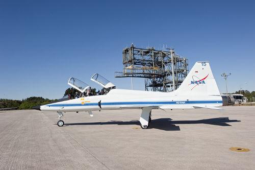 5 listopada 2010 roku - astronauci odlatują z KSC / Credits - NASA