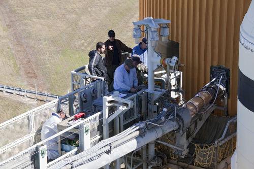 9 listopada 2010 - prace przy GUCP / Credits - NASA
