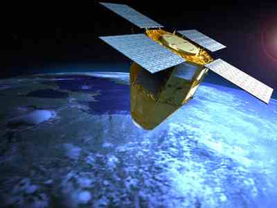 Satelita MUSIS - wizualizacja / Credits: EADS Astrium