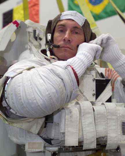 Siergiej Krikaliew - obecny kierownik CPK / Credits - NASA