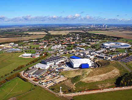 Kampus Harwell - przyszłe brytyjskie centrum przemysłu kosmicznego / Źródło: Satnews Daily
