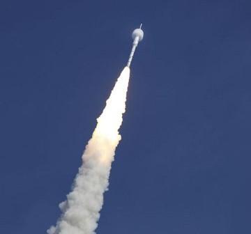 28 października 2009 roku - jedyny test rakiety Ares I (a właściwie Ares I-X) / Credits - NASA