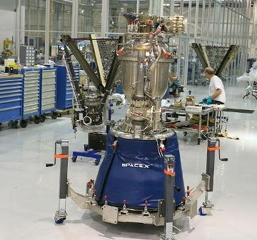 Silnik Merlin 1C / Credits - Steve Jurvetson