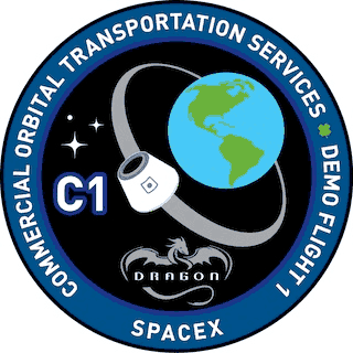 Logo misji Commercial Orbital Transportation Services - COTS 1 (NASA)