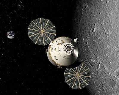 Orion spaceship / Credits: NASA