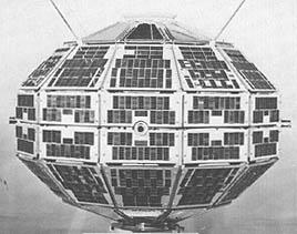 Alouette 1 - pierwszy kanadyjski sztuczny satelita Ziemi / Credits: NASA