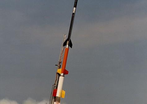 Start rakiety Black Brant XII / Credits: NASA