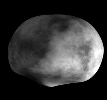 Model planetoidy Westa, z danych uzyskanych przez teleskop Hubble / Credits - NASA, Georgia Southern University, Cornell University