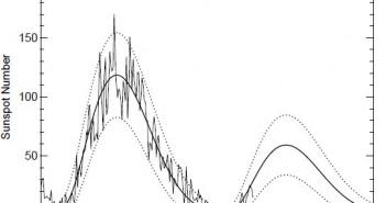 Aktualna prognoza aktywności słonecznej dla 24. cyklu / Credits - NASA, Hathaway, MSFC