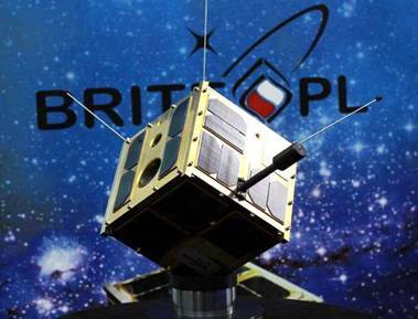 A model of the BRITE-PL satellite / Credits: Centrum Badań Kosmicznych / Space Research Centre
