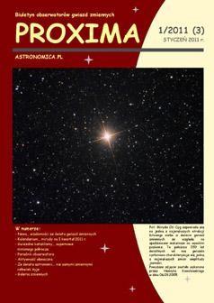 Czasopismo PROXIMA / Credits - Krzysztof Kida, Proxima